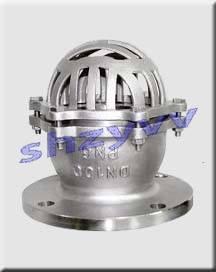 当水泵停泵时,底阀阀芯在重力作用下关闭,防止介质逆流,造成入口管道图片