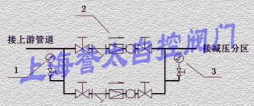 并联给水减压方式中减压阀的设置图片